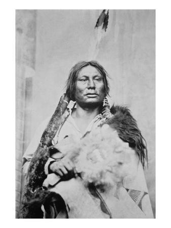Chief Gall (C.1840-94) (B/W Photo)