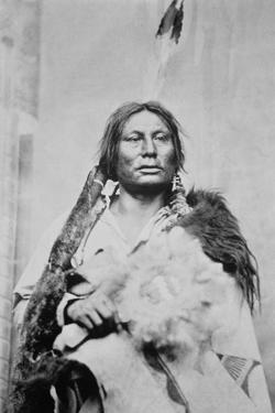 Chief Gall (C.1840-94) (B/W Photo) by American Photographer