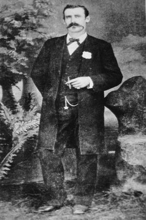 Dallas Stoudenmire (B.1845) 1881 (B/W Photo)
