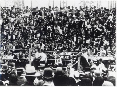 John L. Sullivan V. Jake Kilrain at Richburg, Mississippi on 18th July, 1889