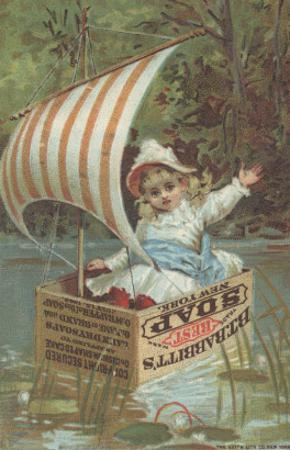 Advertisement for Babbitt's Best Soap, C.1880 by American School
