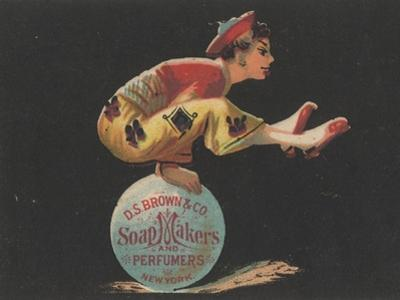 Advertisement for D. S. Brown and Co. Soap Makers and Perfumers, New York, C.1880 by American School