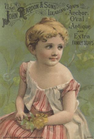 Advertisement for John Reardon and Sons Leading Soaps: Anchor, Oval, Antique and Extra Family Soaps by American School