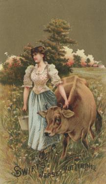 Advertisement for Swift's Jersey Butterine, C.1880 by American School