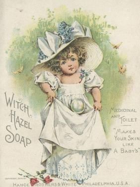 Advertisement for Witch Hazel Soap, Medicinal and Toilet, 1894 by American School