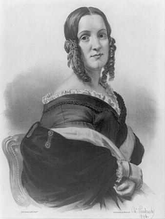 Angelica Van Buren, 1842 by American School