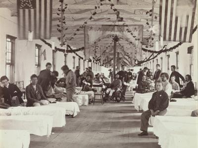 Armory Square Hospital, Washington, 1863-65 by American School