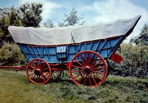 Conestoga Wagon by American School