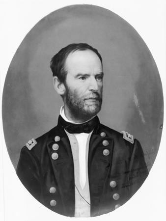 General William Sherman, c.1865 by American School