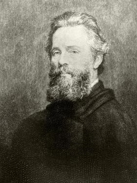 Herman Melville by American School