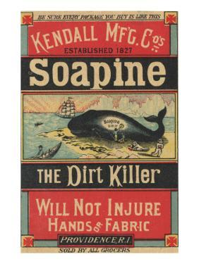 Poster Advertising Kendall Mfg. Co's 'soapine', C.1890 by American School