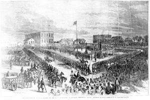 The Execution of Sioux Indians by the Us Authorities at Mankato, Minnesota on Friday 26th… by American School