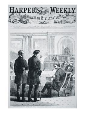 The Impeachment of President Andrew Johnson by American School