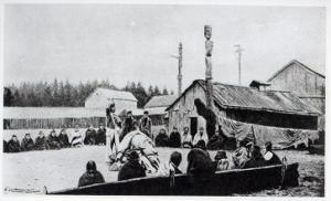 Tribal Meeting by American School