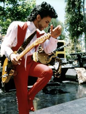 American Singer Prince (Prince Rogers Nelson) in the 80'S