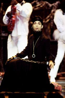 American Singer Prince (Prince Rogers Nelson) on Stage at the Naacp Image Awards 1999