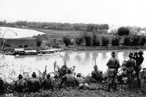 American Soldiers on Manuvers During the Philippine Insurrection