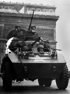 American Tank in Paris