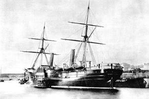 American Transatlantic Steamship, Arago, 1856
