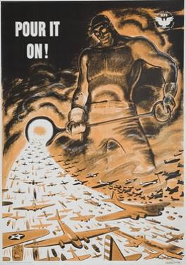 American World War Two Poster