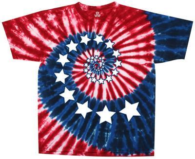 Americana-Stars & Stripes Spiral