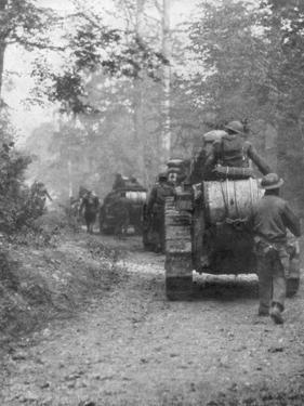 Americans Preparing for the Attack on the Argonne Forest, Verdun, France, September, 1918