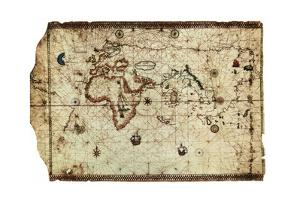 King Hamy' Navigational Chart, 1502 by Amerigo Vespucci