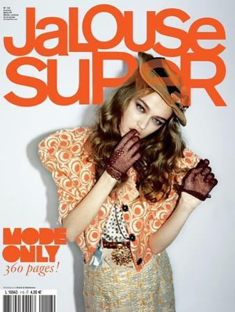 Jalouse, March 2009 - Madisyn Ou Theodora Richards by Ami Sioux & Paul Schmidt