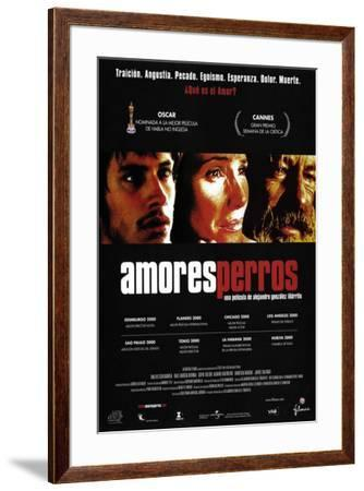 Amores Perros - Spanish Style--Framed Poster