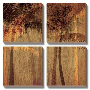 Sunset Palms I by Amori