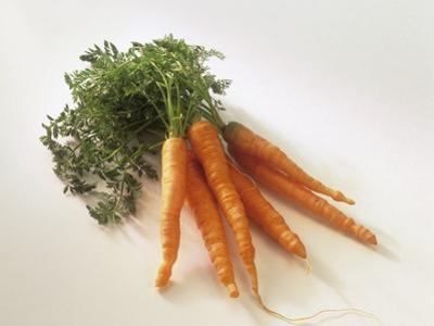 Fresh Carrots with Tops