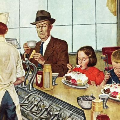 """""""Banana Split"""", August 16, 1952 by Amos Sewell"""