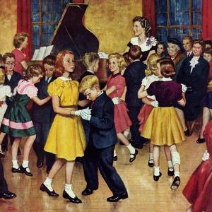 """""""Dance Cotillion"""", April 28, 1951 by Amos Sewell"""