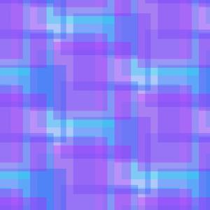 Abstract Blue and Lilac Pattern from Squares by amovita