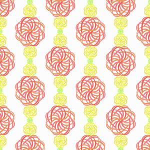Elaborate Colorful Vertical Pattern by amovita