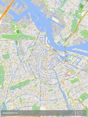 Amsterdam, Netherlands Map