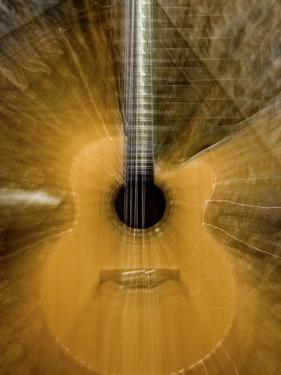 Long Zoom Exposure of a Guitar by Amy & Al White & Petteway