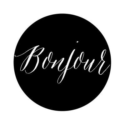 Bonjour Black by Amy Brinkman