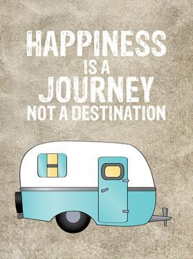 Camper Happiness Is Journey by Amy Brinkman