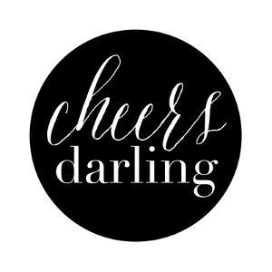 Cheers Darling Black by Amy Brinkman
