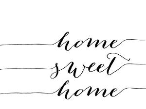Home Sweet Home Black by Amy Brinkman