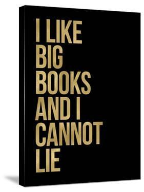 I Like Big Books Golden Black by Amy Brinkman