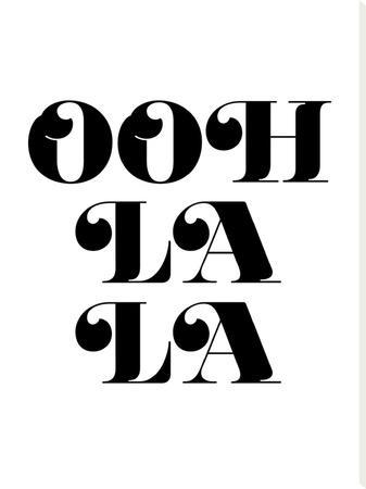 Ooh La La Black by Amy Brinkman