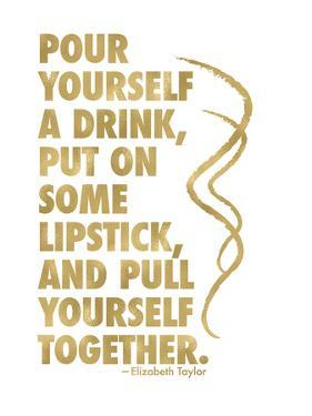 Pour Yourself Drink Golden White by Amy Brinkman