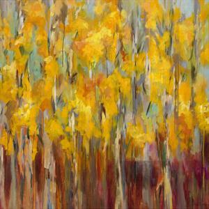Golden Angels in the Aspens by Amy Dixon