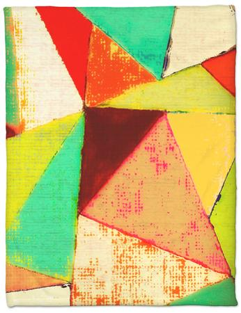 Triangles II by Amy Lighthall
