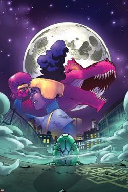 Moon Girl and Devil Dinosaur No. 7 Cover Art by Amy Reeder