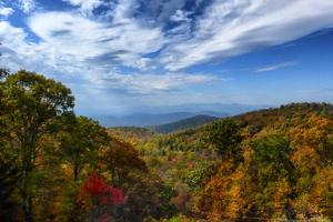 Fall Colors in the Blue Ridge Mountains by Amy White and Al Petteway