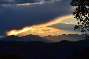 Sunset over the Blue Ridge Mountains by Amy White and Al Petteway