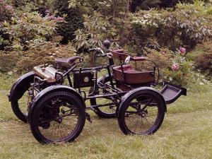 An 1898-1902 Enfield Quad